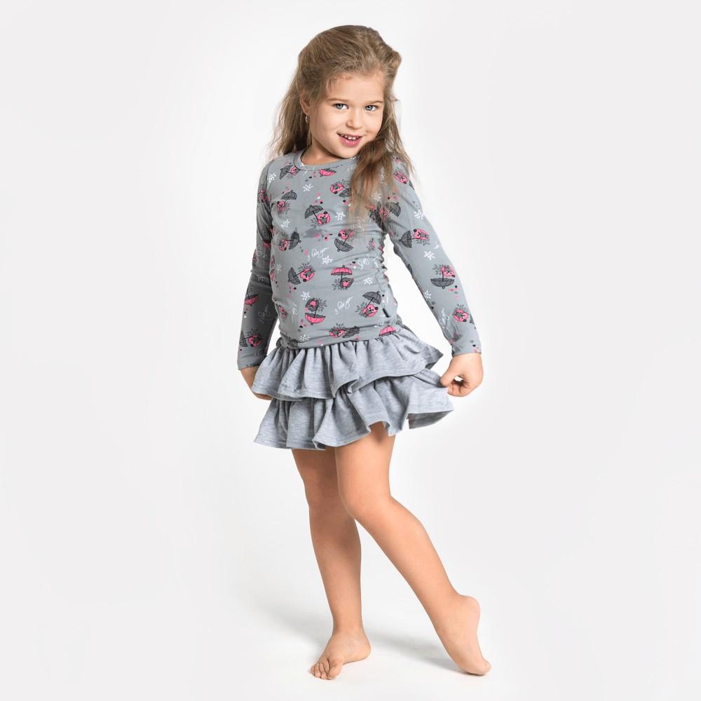 Детские трикотажные платья купить